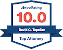 Avvo Rating - David C. Tapalian